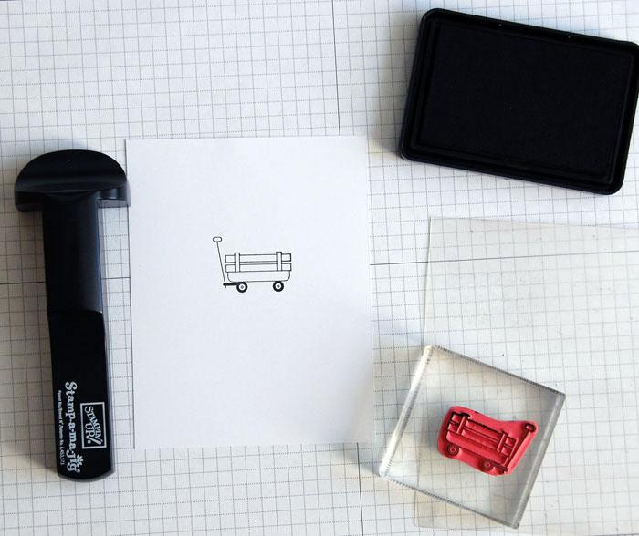 SAMJ Step 1: Stamp image
