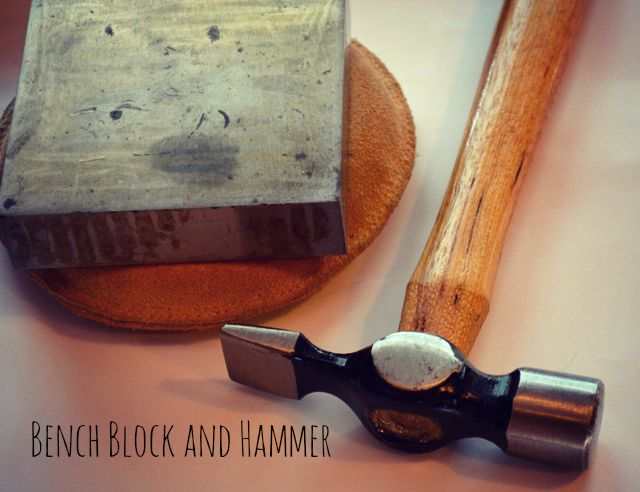 Bench block and hammer