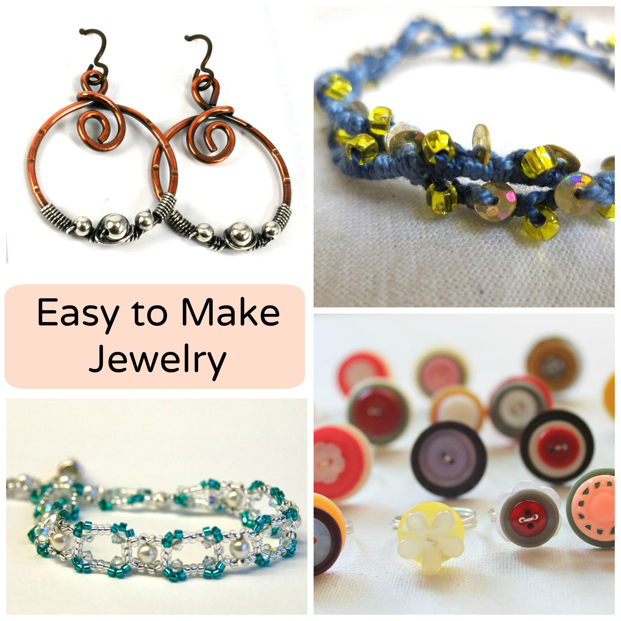 easy to make jewelry