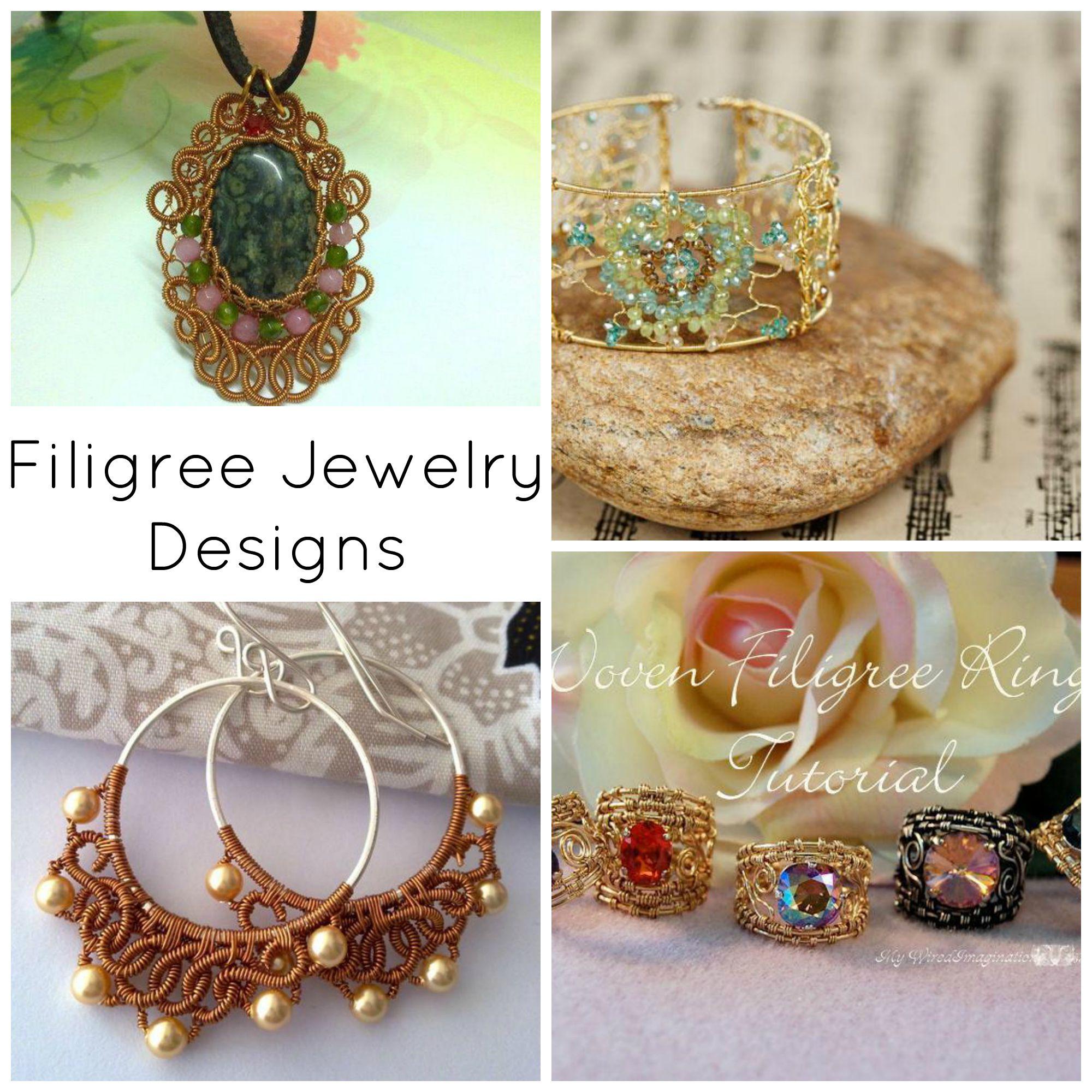 Filigree Jewelry Designs