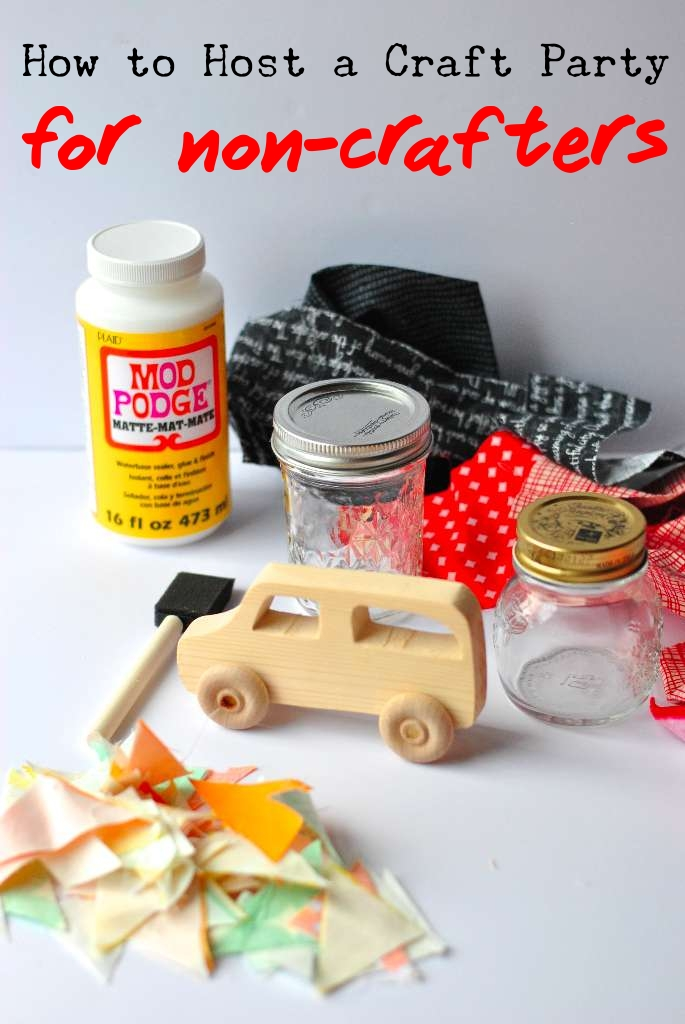 Host a Craft Party for Non-Crafters