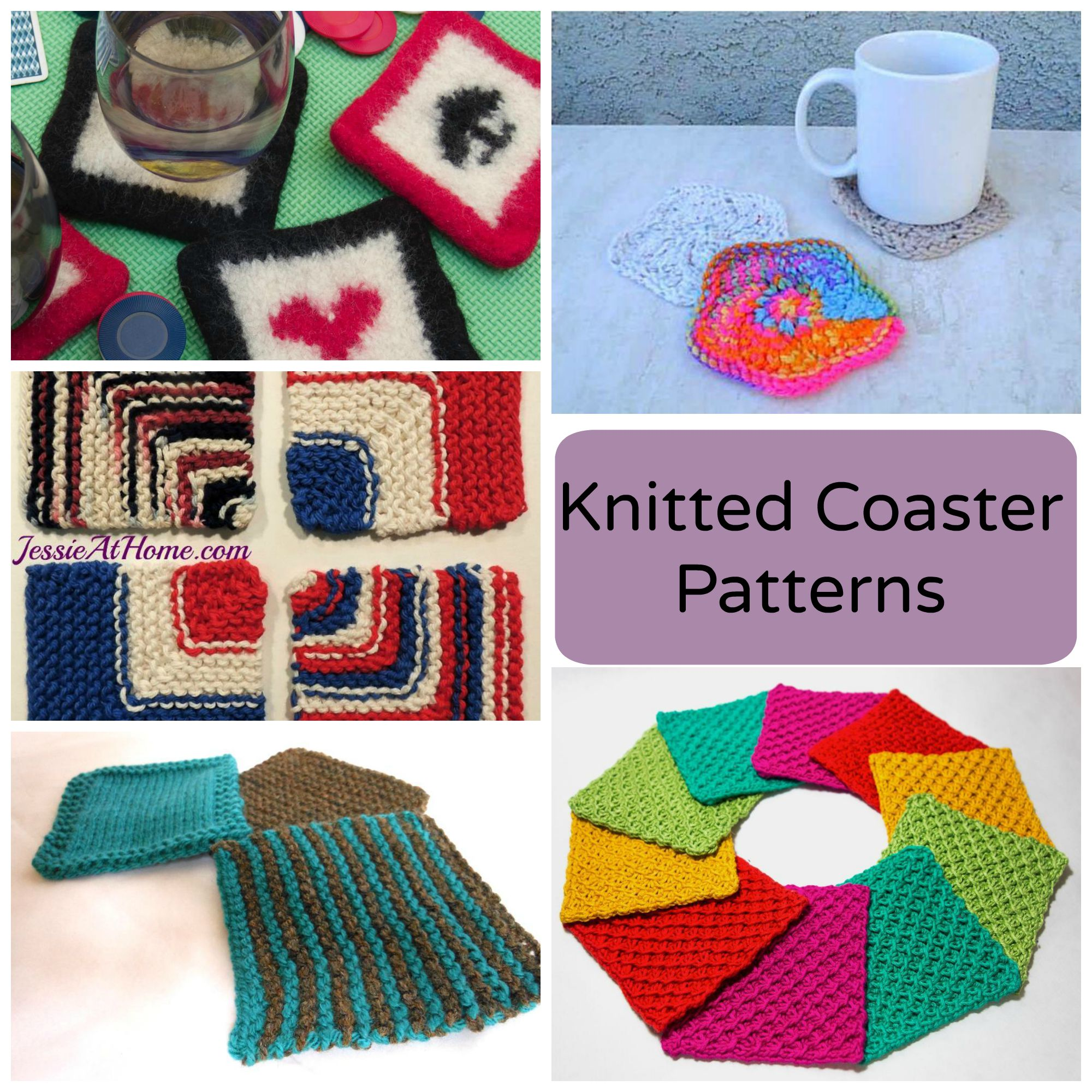 Knitted Coaster Patterns