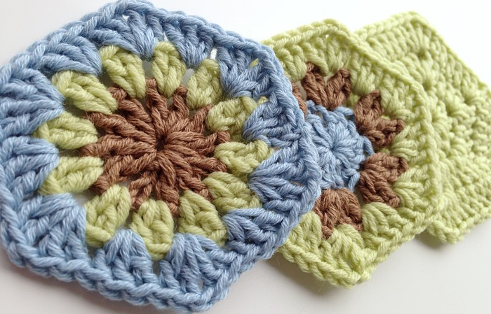 Simple hexagon motifs to crochet featured