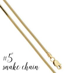 Snake chain #5