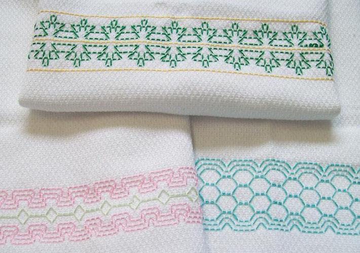 Swedish Weaving Border Set D