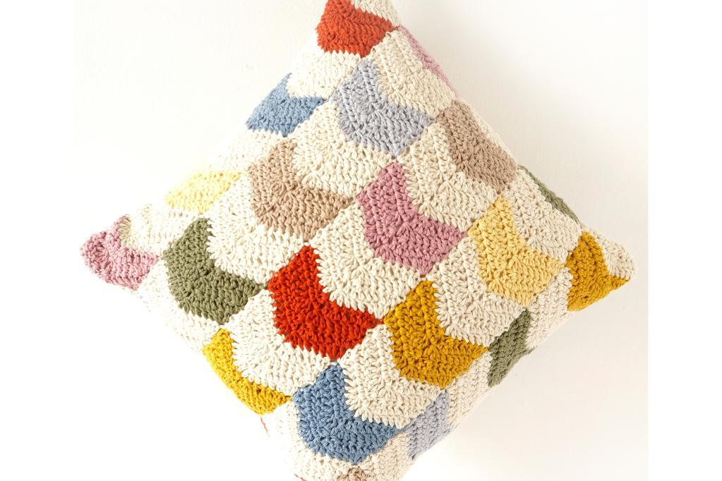 chevron cushion crochet pattern