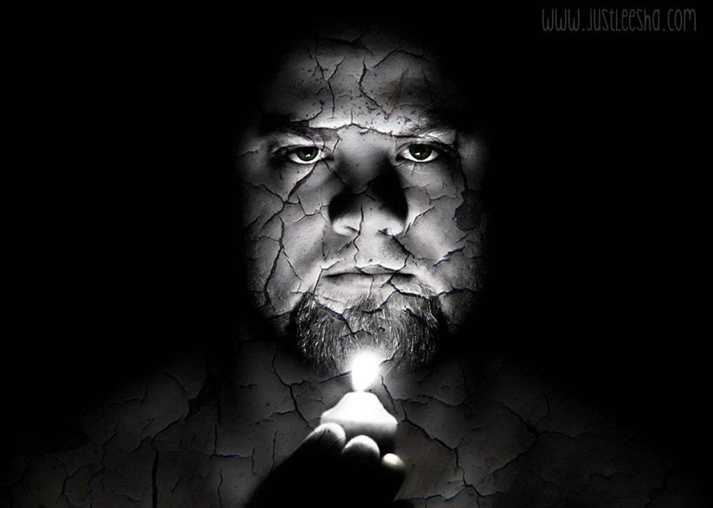Cracked Skin Illusion photo