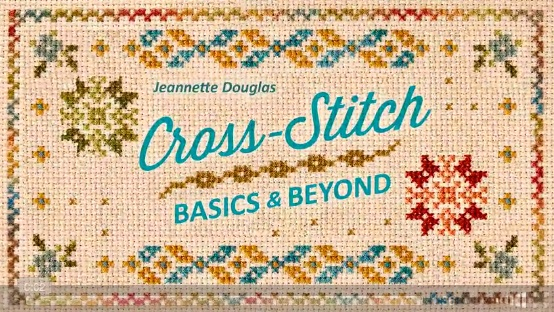Bluprint cross-stitch basics and beyond hand embroidery class.