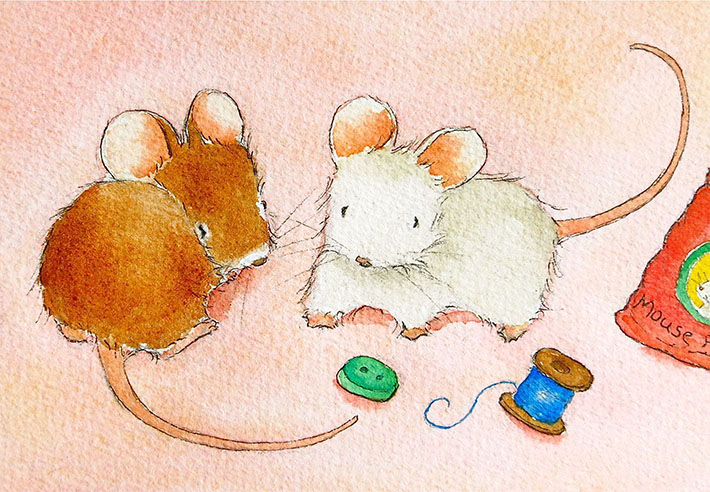 How to Draw a Mouse: FREE Tutorial on Bluprint!