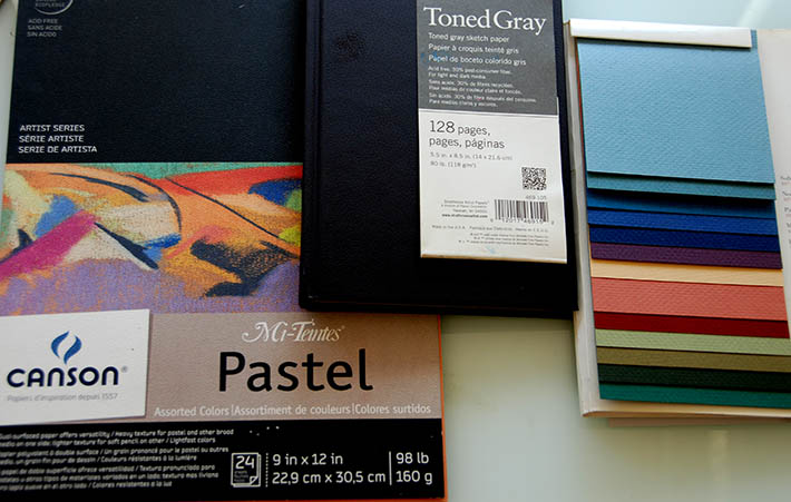 drawing paper assorted colors