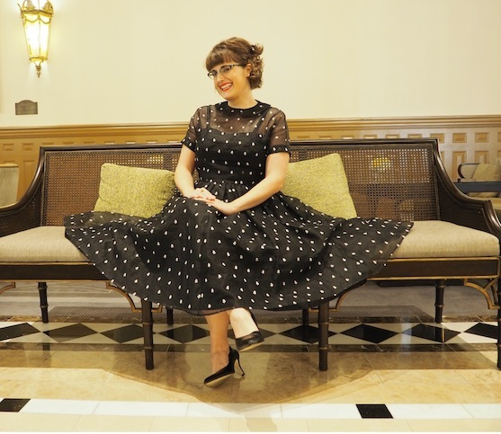 dress with french seams