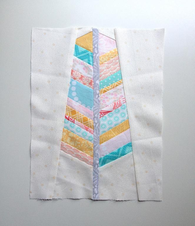 free paper pieced feather pattern