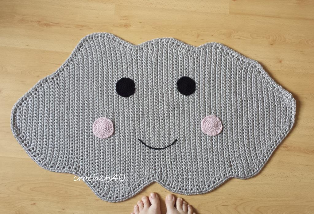 Cloud Rug Crochet Pattern