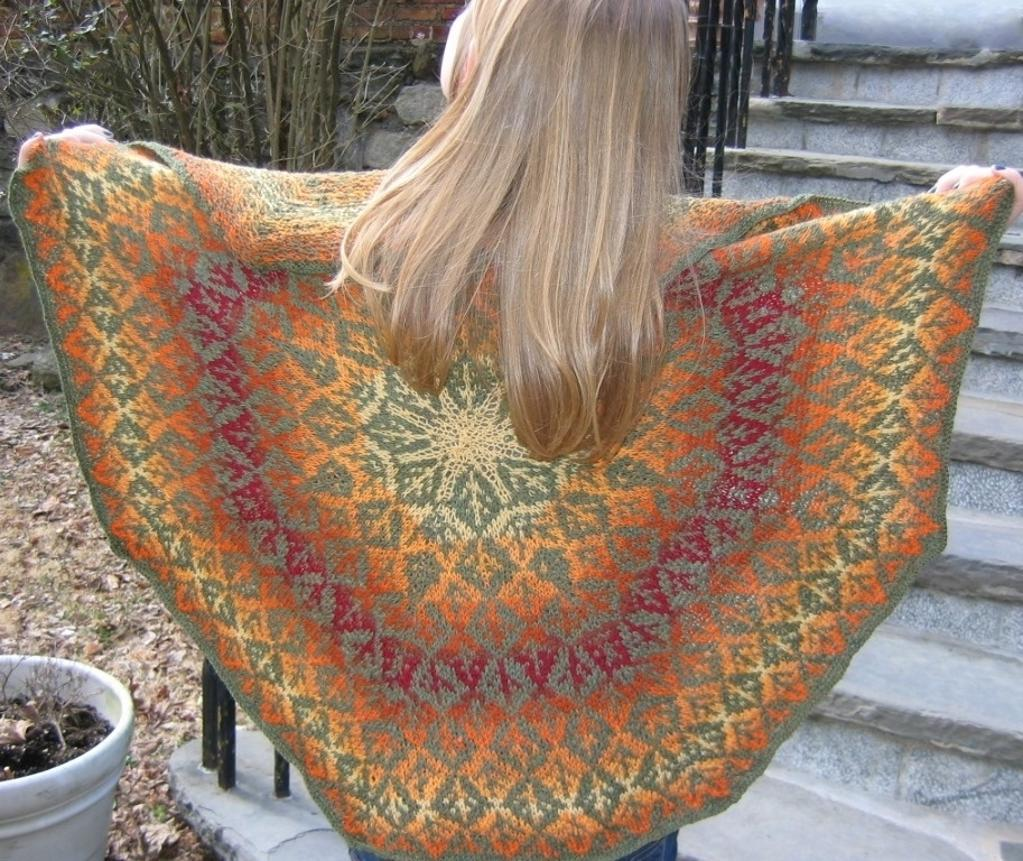 Fall Out Shawl