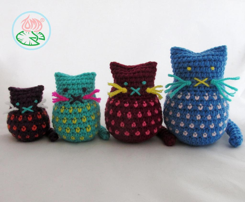 Amigurumi Cats Crochet Pattern