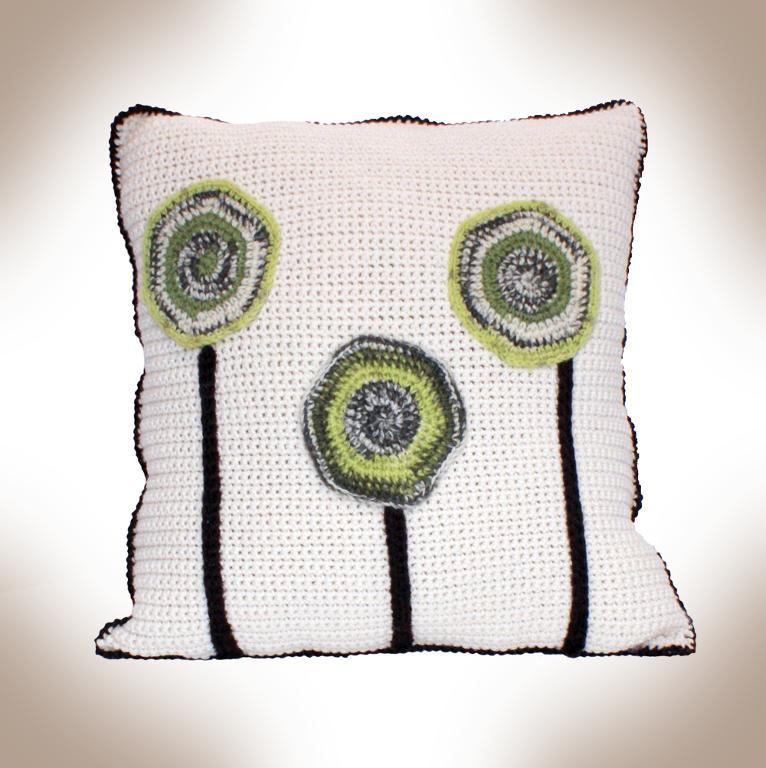 Felted or Unfelted Tree Pillow Crochet Pattern