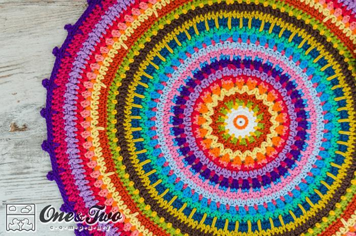 Colorful Crochet Rug Pattern
