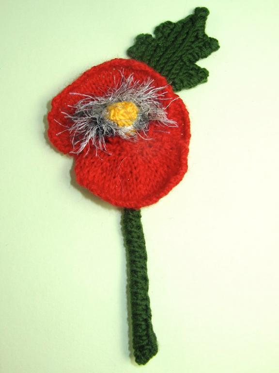 Free Poppy Flower Buttonhole Accessory