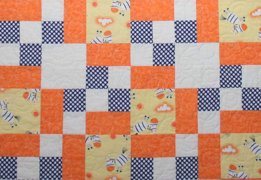 Colorful Patchwork Baby Quilt: Free Pattern on Craftsy