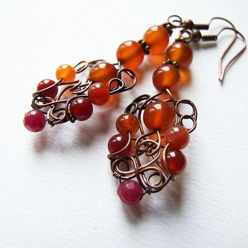 Cluster of Berries Earrings