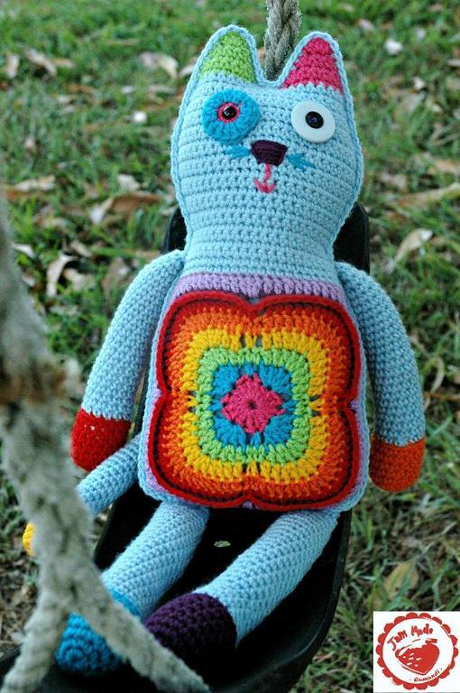 Granny Cat Crochet Pattern