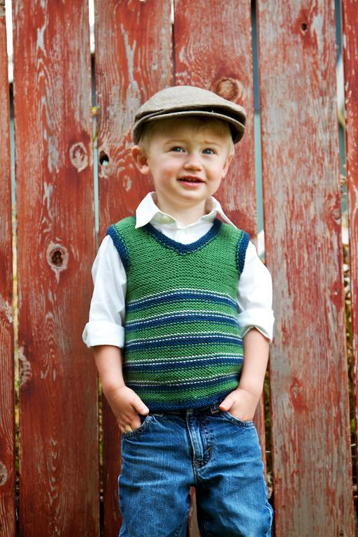 Oxford Vest Knitting Pattern