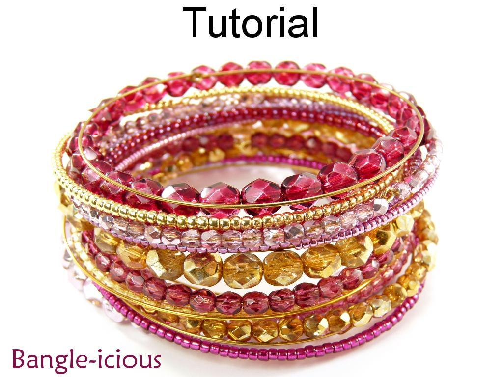 Bangle-icious Memory Wire Bracelet Tutorial