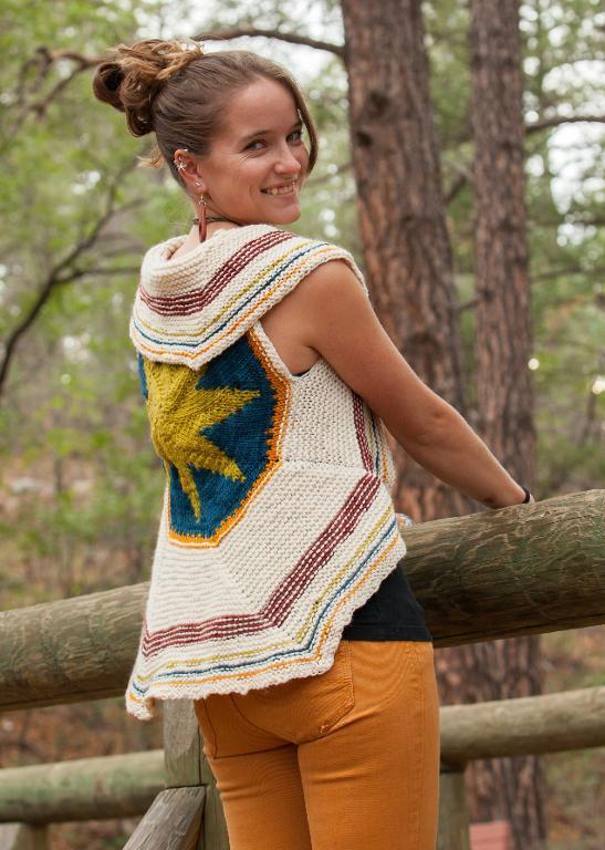 Wayfaring Vest Knitting Pattern