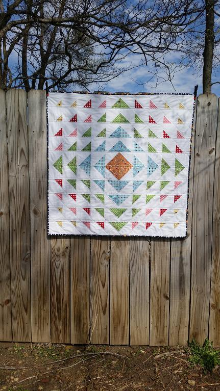 Bountiful free baby quilt pattern
