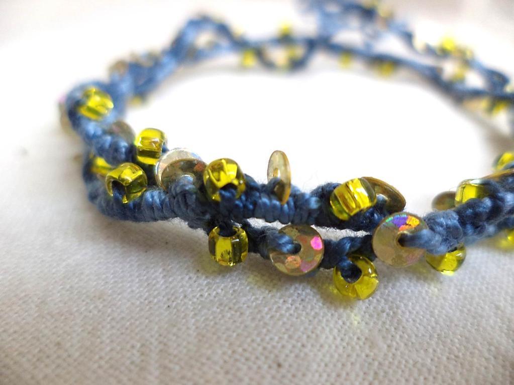 Kadyn Knotted Bracelet or Anklet Tutorial