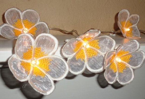 Frangipani String Lights