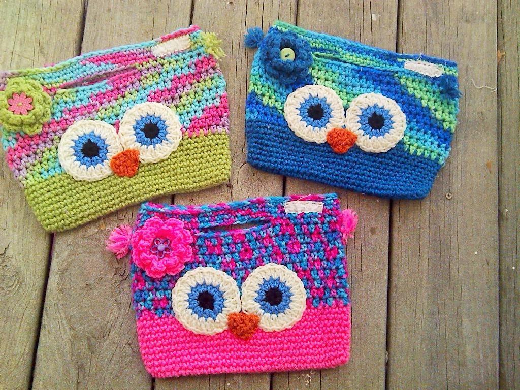 Owl Handbag FREE Crochet Pattern