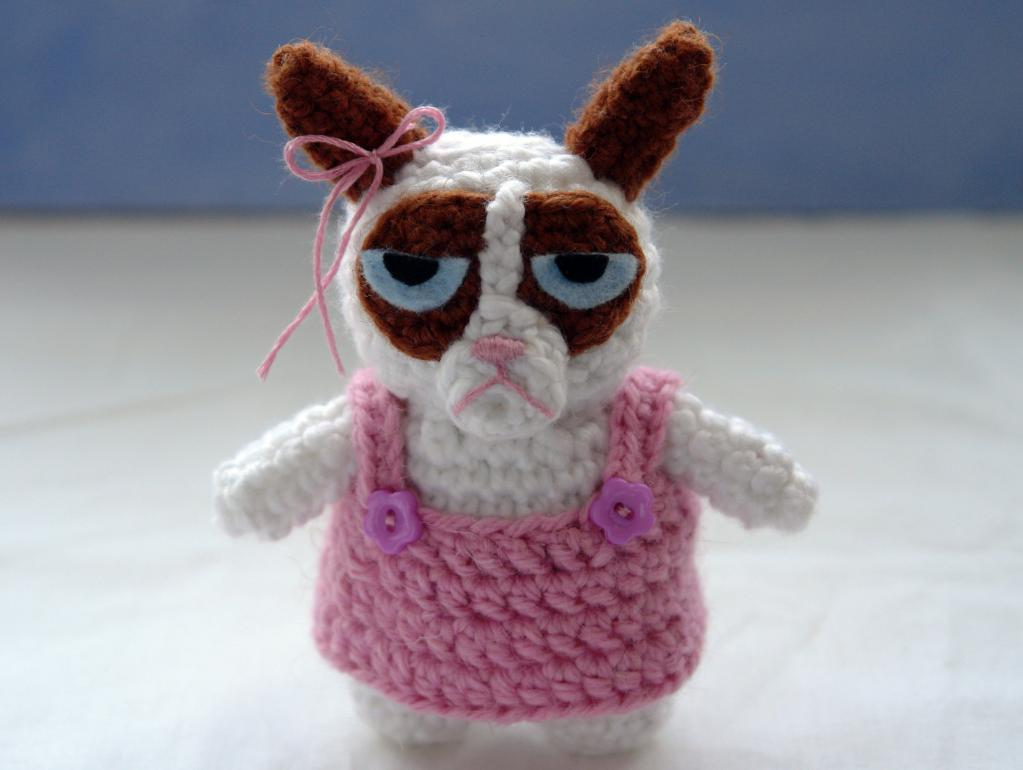 Grumpy Cat Crochet Pattern