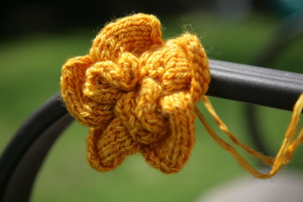 Ella Knit Flower Pattern
