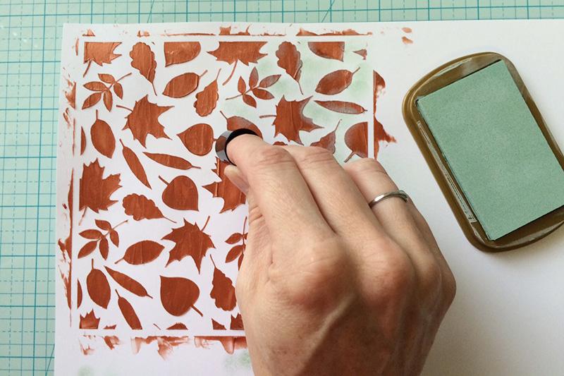 Ink Dauber Stamping