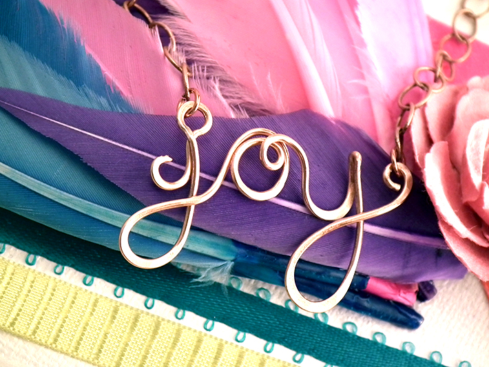 Handwriting Jewelry at Craftsy