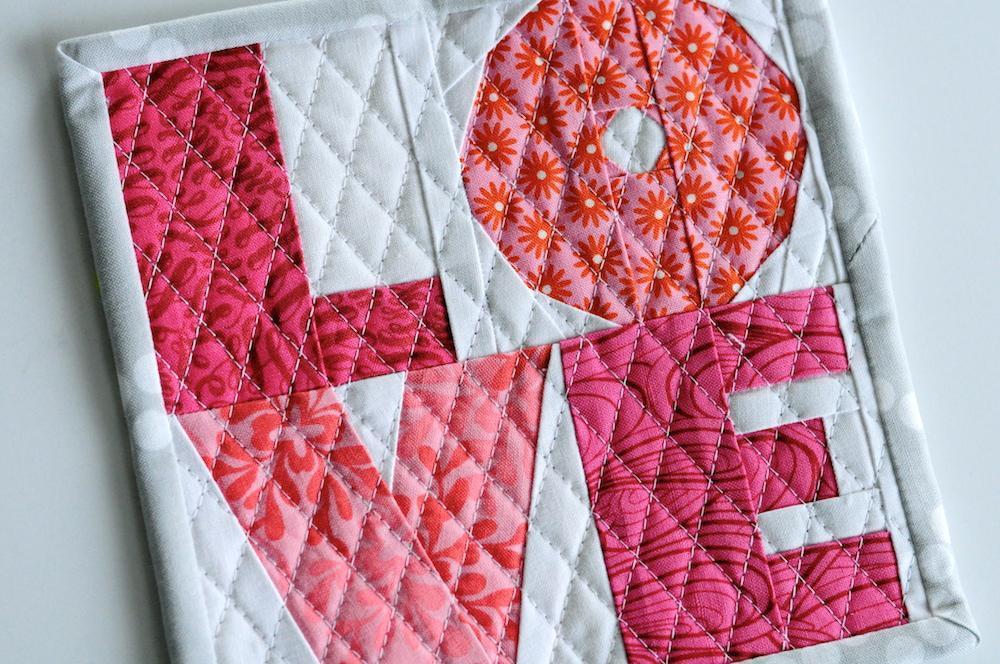 love paper pieced pattern