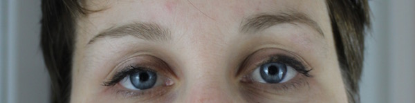Reference photo for drawing eyebrows