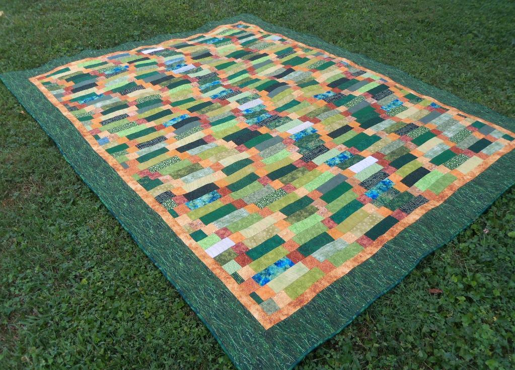 Snakes in the Grass Quilt