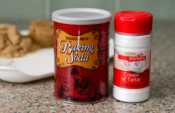 Baking Soda and Cream of Tartar