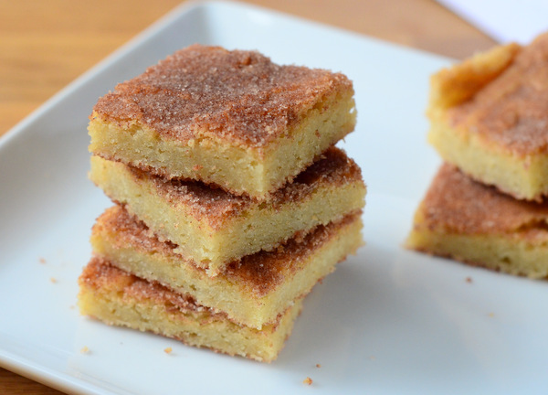Back to School: How to Make Snickerdoodle Bar Cookies