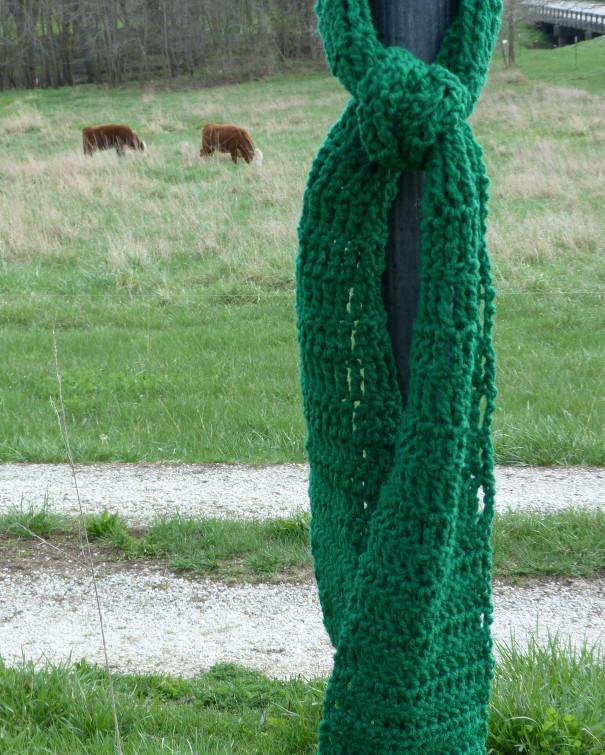 stitch sampler crochet scarf pattern