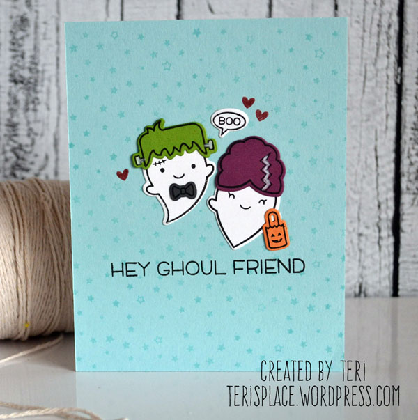 Teri Anderson - Not-So-Ghoulish Greetings