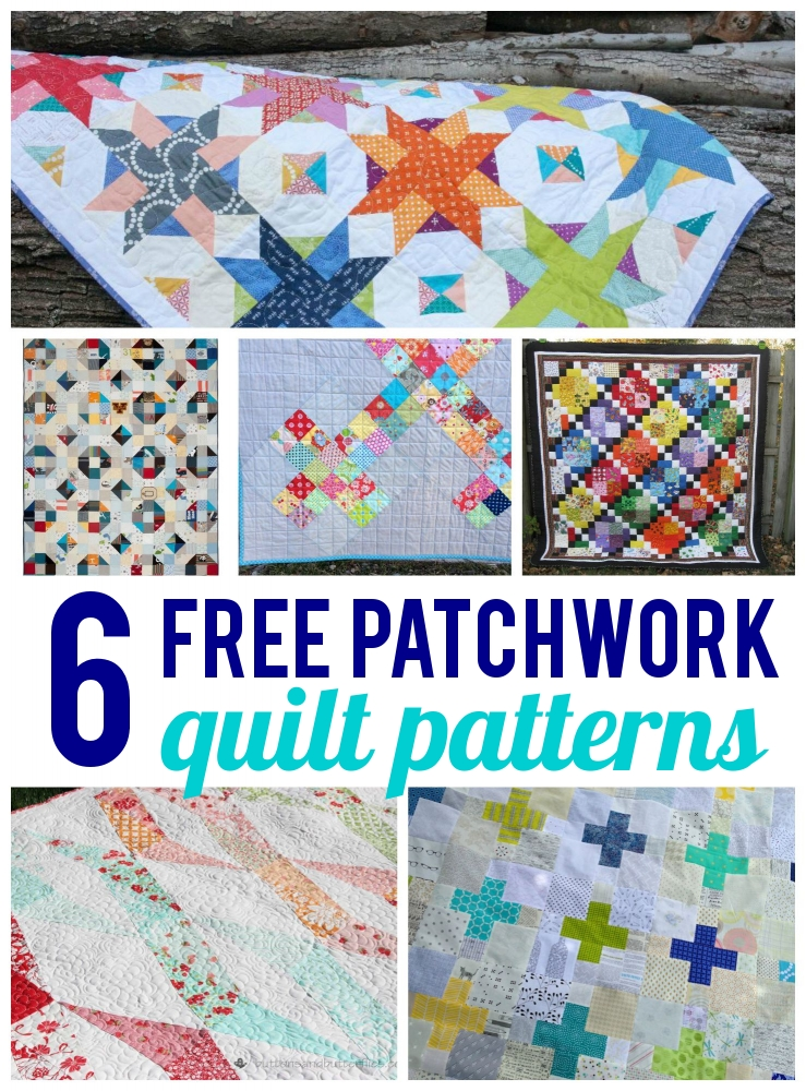 6 Free Patchwork Quilt Patterns