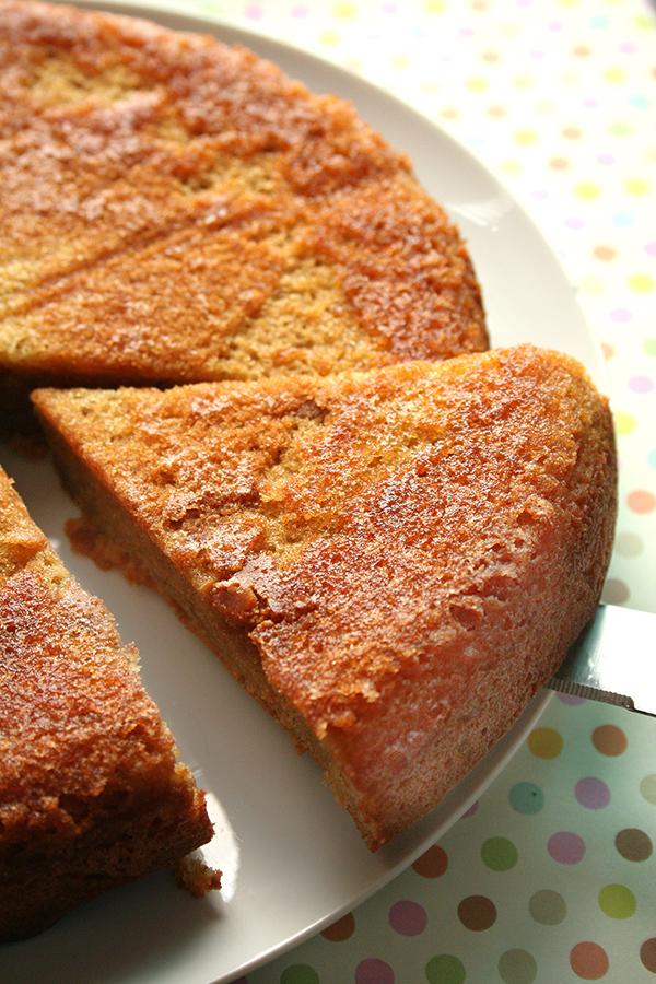 Peanut butter cake - yum!