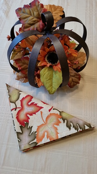 Fall napkins