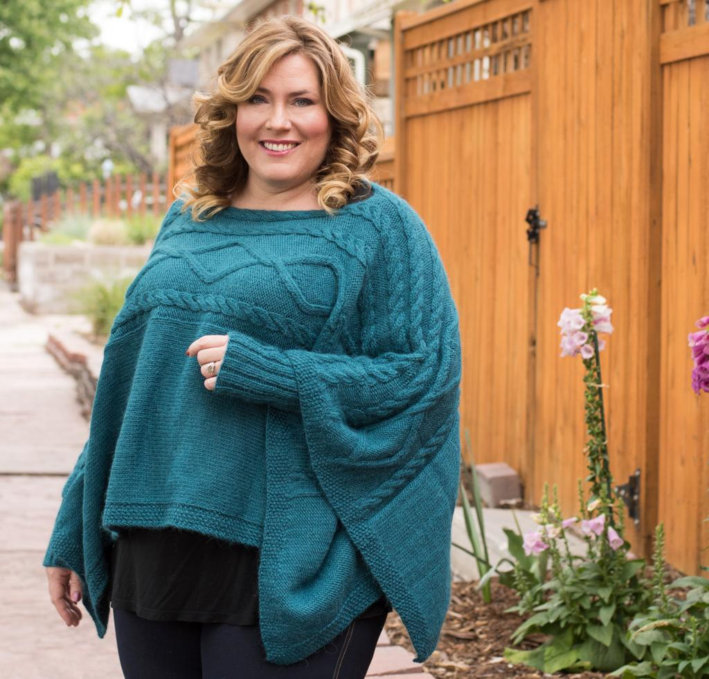 Madison Poncho Knitting Kit