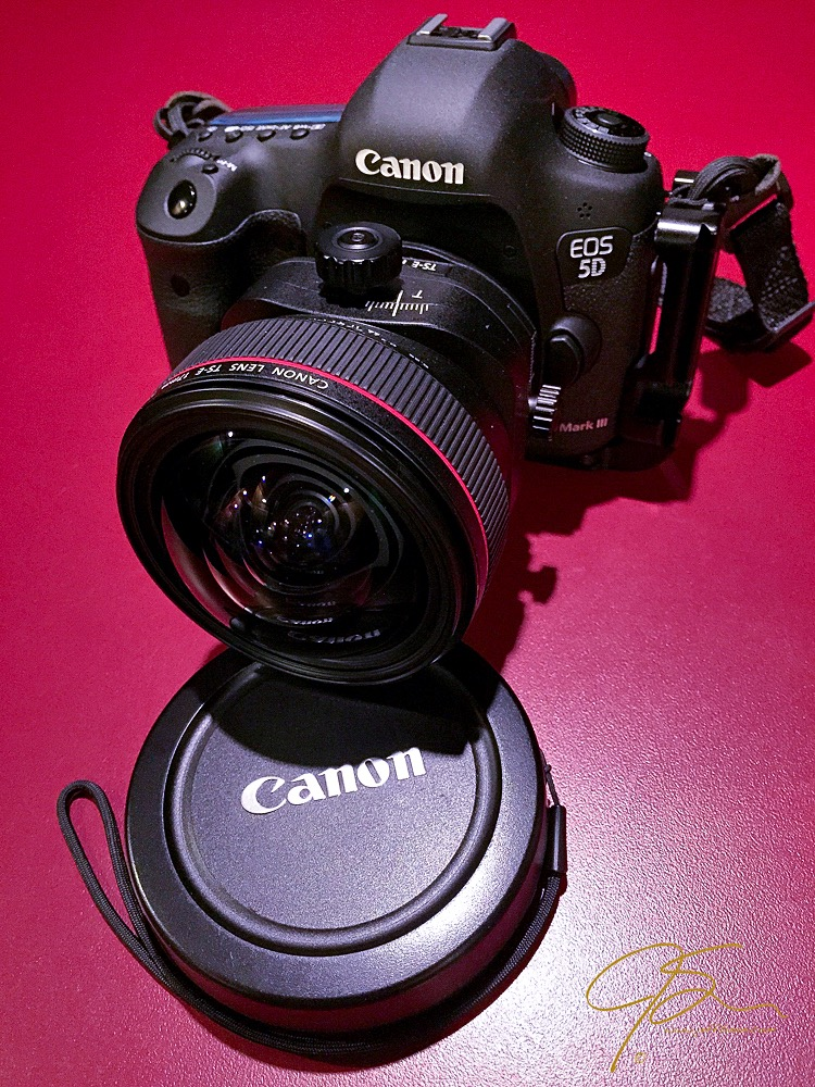 Canon 5D MkIII with a Canon TS-E 17mm tilt-shift lens.