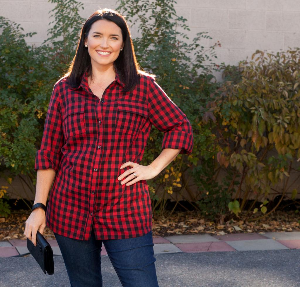 On the Hunt Plaid Shirt Kit for Sewing