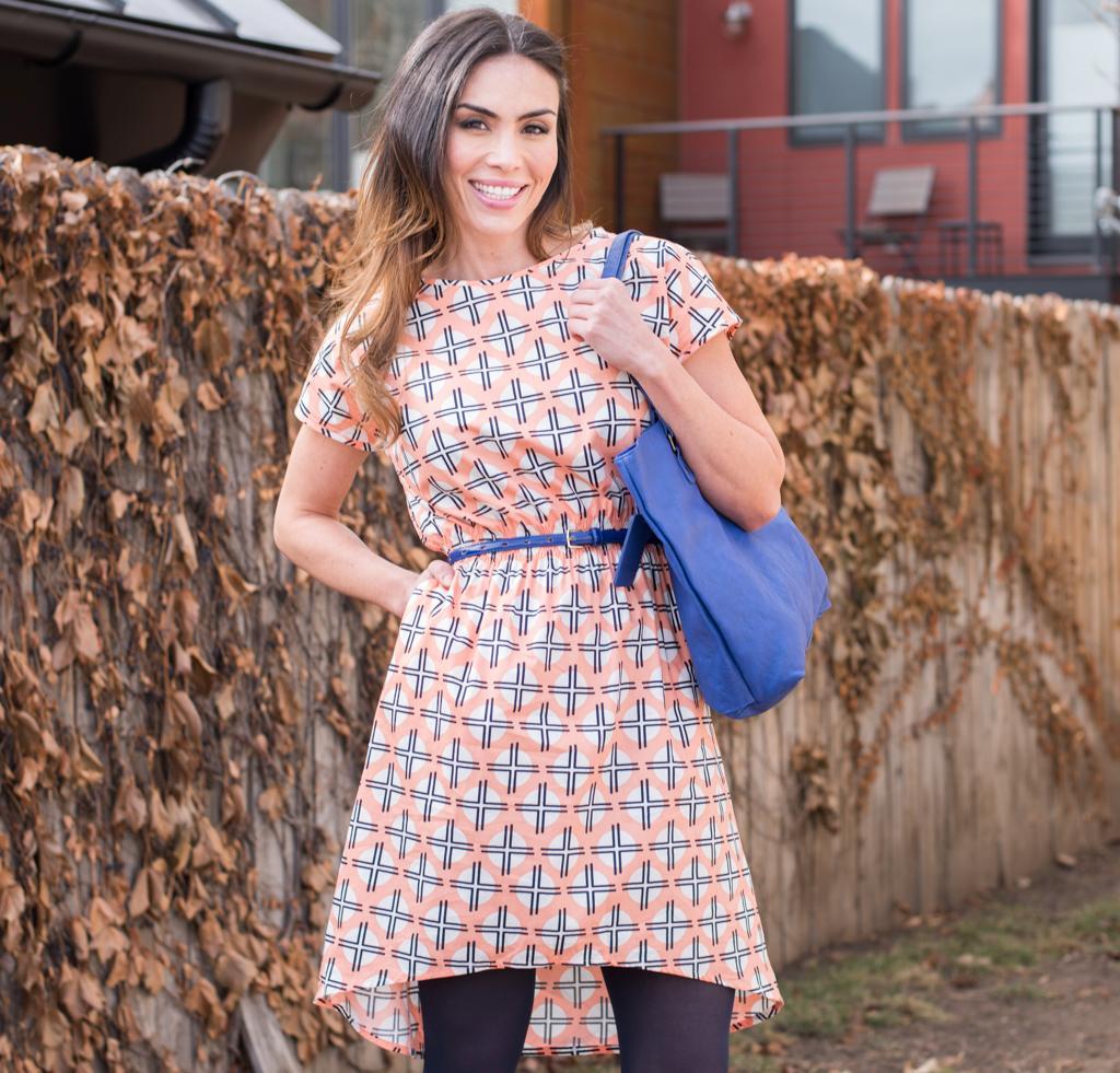 April Rhodes The Staple Dress Sewing Kit